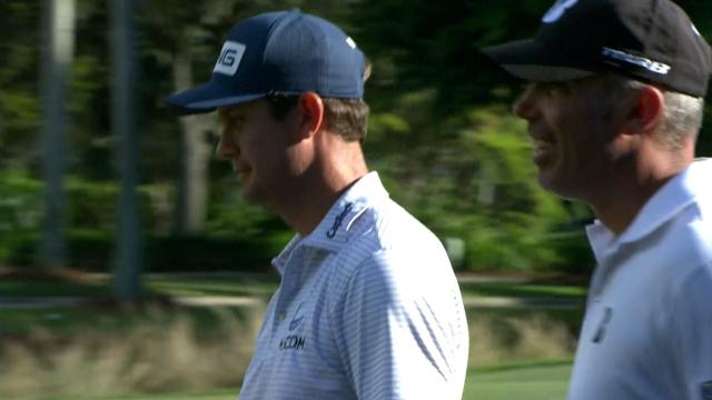 Harris English and Matt Kuchar's Round 2 highlights from QBE Shootout