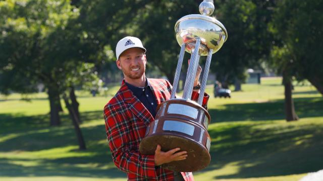Daniel Berger wins at Charles Schwab
