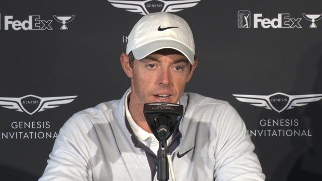 Rory McIlroy discusses the tournament before Genesis