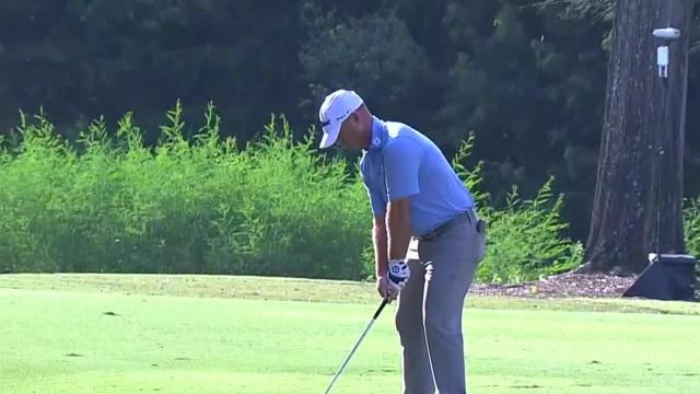 Ryan Armour's approach inside 5 feet leads to birdie at Sanderson Farms