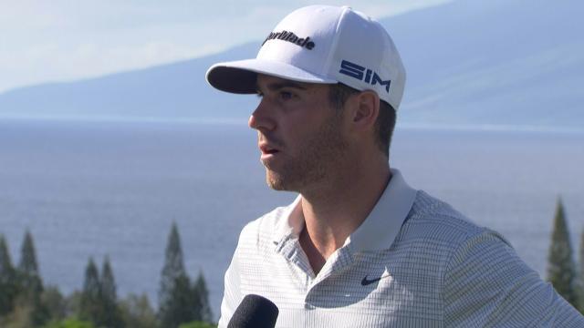 Matthew Wolff interview after Round 1 of Sentry