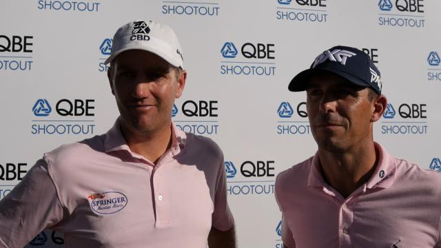 Horschel and Todd comment after round-two of the QBE Shootout
