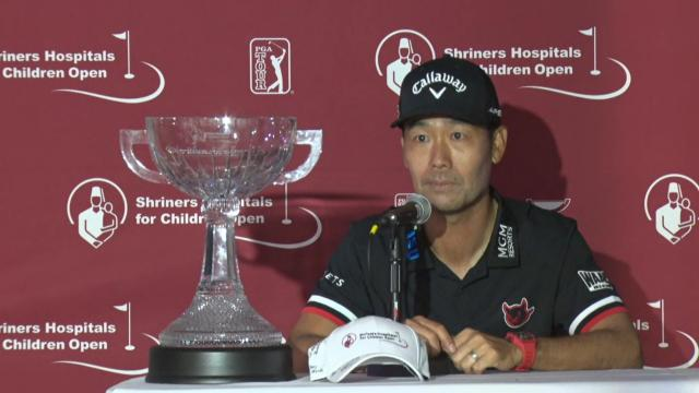 Kevin Na's news conference after winning Shriners