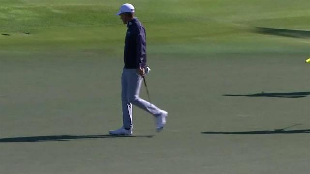 Charles Howell III's 25-foot birdie putt on No. 10 at The RSM Classic