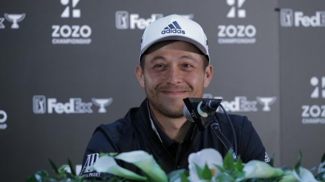 Xander Schauffele on becoming an elite player before ZOZO
