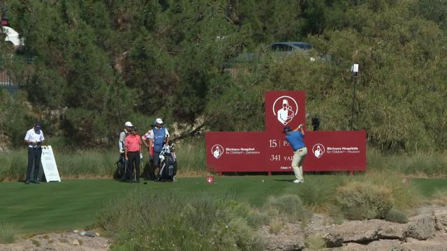 Today's Top Plays: Harry Higgs' 315-yard drive sets up eagle putt for the Shot of the Day