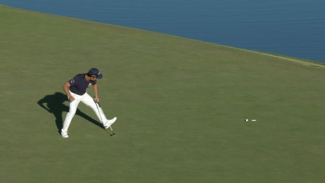 Today's Top Plays: Kevin Na's clutch birdie putt for the Shot of the Day