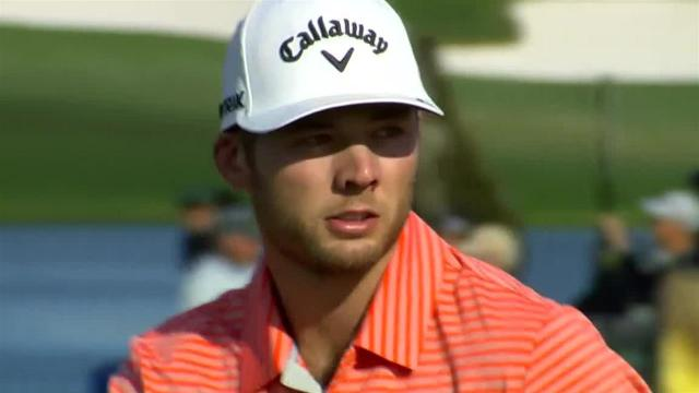 Sam Burns' 26-foot birdie putt at Arnold Palmer