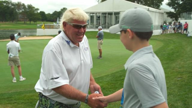 Connor Cassidy's special day at Barbasol Championship