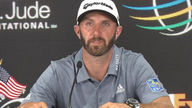 Dustin Johnson in familiar territory before WGC-FedEx St. Jude