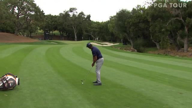 Phil Mickelson's nice approach leads to birdie at ZOZO