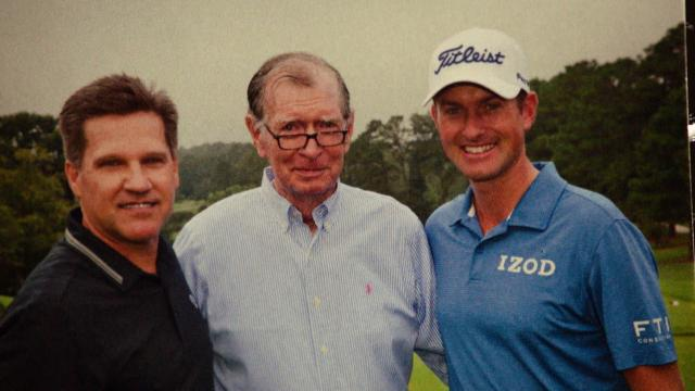 Impact of Webb Simpson's father on career