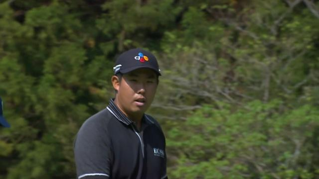 Byeong Hun An birdies No. 9 at THE CJ CUP