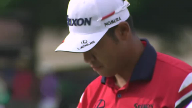 Hideki Matsuyama sticks approach to set up birdie at Wells Fargo