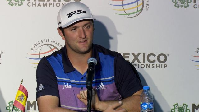 Jon Rahm comments before WGC-Mexico
