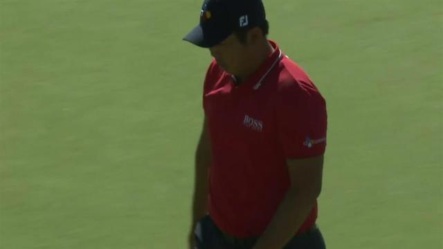 Byeong Hun An's impressive tee shot leads to birdie at Waste Management