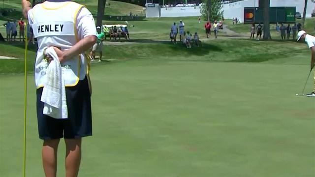 Russell Henley's 45-foot birdie putt at John Deere
