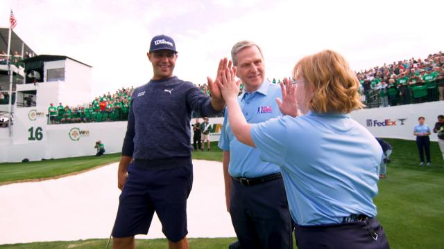 Amy Bockerstette and Gary Woodland | One year later