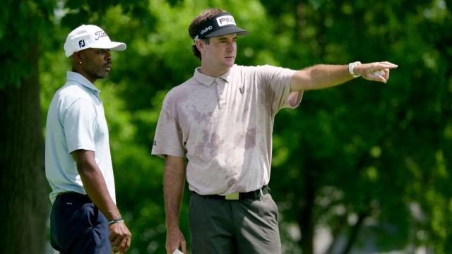 Bubba Watson and Tim O'Neal discuss their friendship at Rocket Mortgage