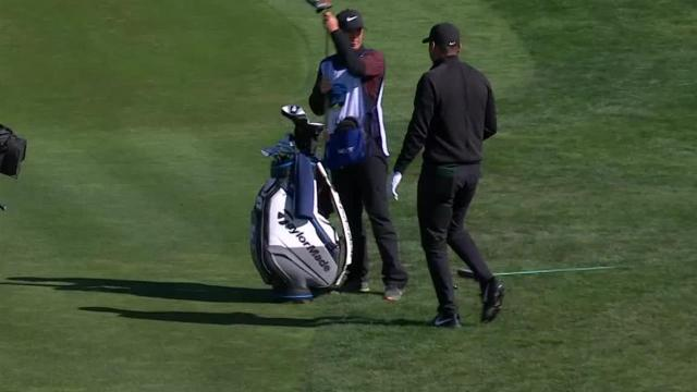 Jason Day's bunker play leads to birdie at AT&T Pebble Beach