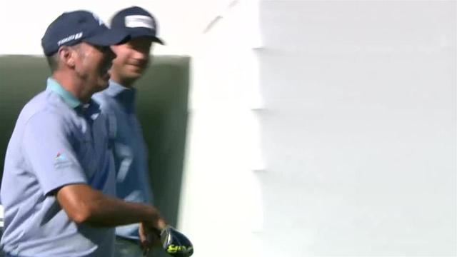 Matt Kuchar's 327-yard tee shot leads to birdie at Waste Management