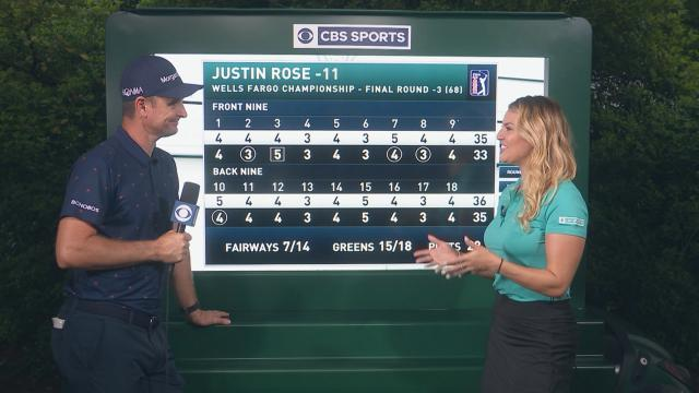 Justin Rose's interview after Round 4 of Wells Fargo
