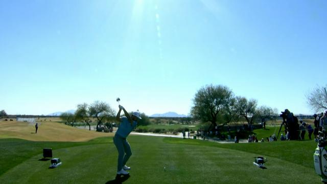 Leaders in Driving at Waste Management Phoenix Open