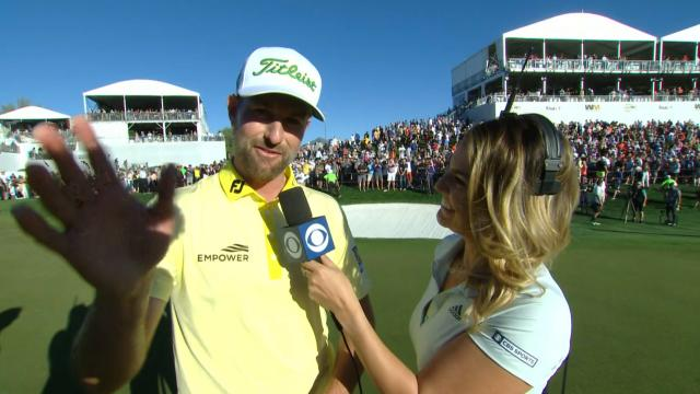 PGA TOUR | Webb Simpson's interview after winning Waste Management