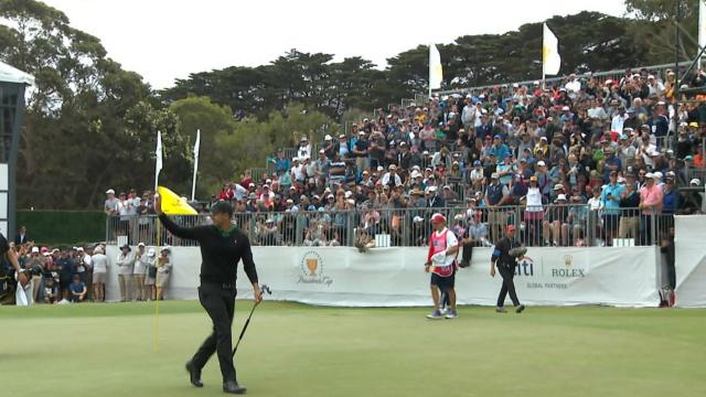 Today's Top Plays: Adam Scott's 25-foot eagle putt for the Shot of the Day