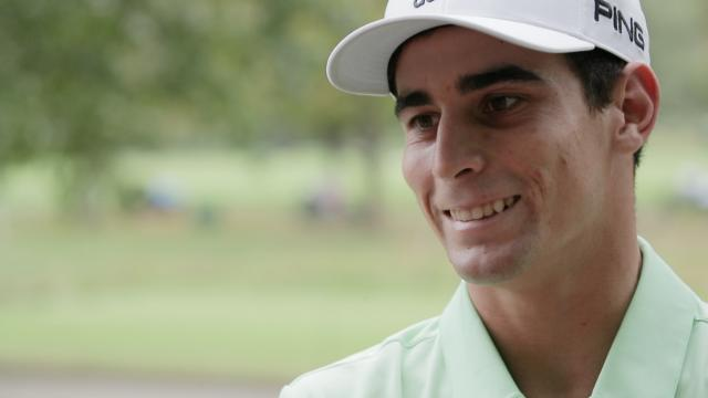 Joaquin Niemann interview after Round 1 of The Greenbrier