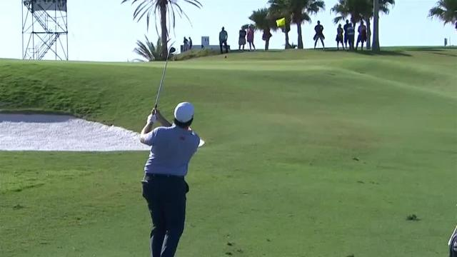 Harry Higgs makes birdie on No. 12 in Round 3 at Bermuda