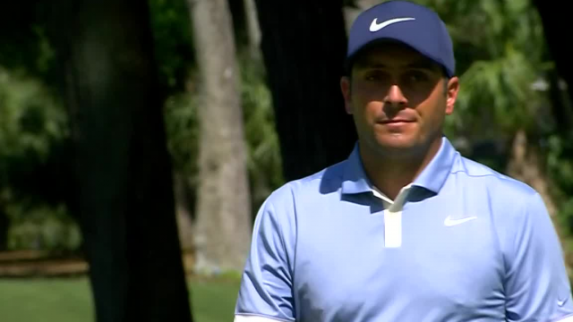 Francesco Molinari holes birdie from fringe at RBC Heritage