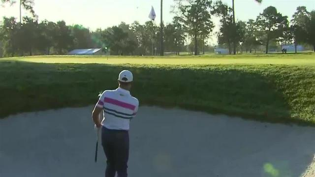 Cameron Champ nearly holes bunker shot at Houston Open
