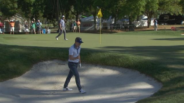 Today's Top Plays: Luke Donald's bunker hole out is the Shot of the Day