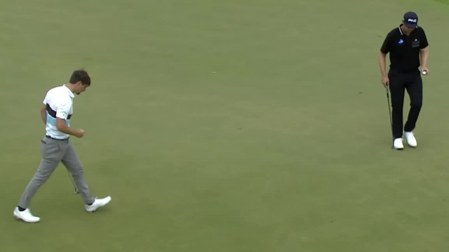 Ollie Schniederjans sinks 22-footer for birdie at THE PLAYERS