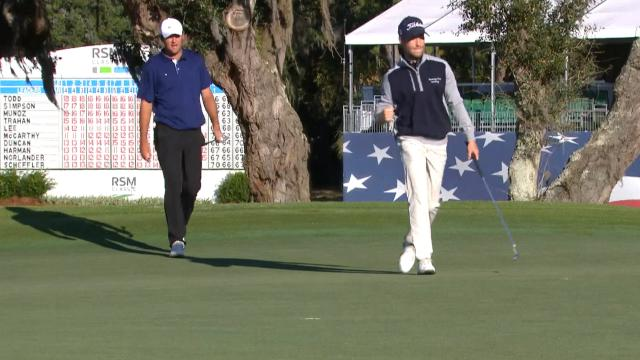 Today's Top Plays: Tyler Duncan's birdie putt to force playoff for the Shot of the Day