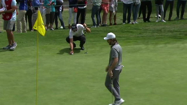 Tommy Fleetwood's eagle on No. 1 at WGC-Mexico