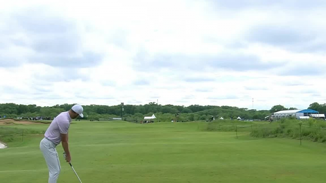 Kevin Tway's solid tee shot sets up 1-foot birdie at AT&T Byron Nelson
