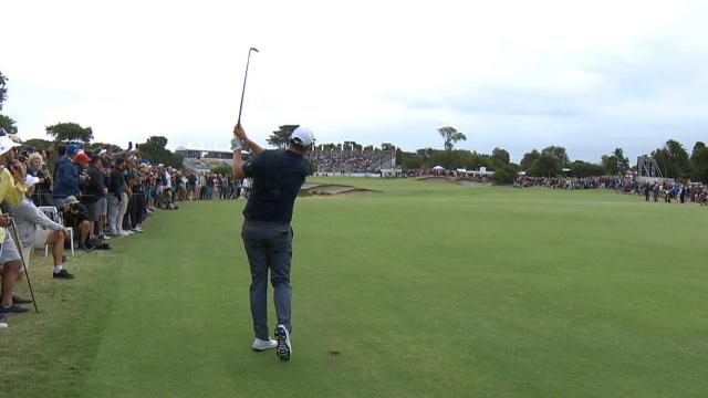 Today's Top Plays: Marc Leishman's clutch approach sets up birdie finish for the Shot of the Day