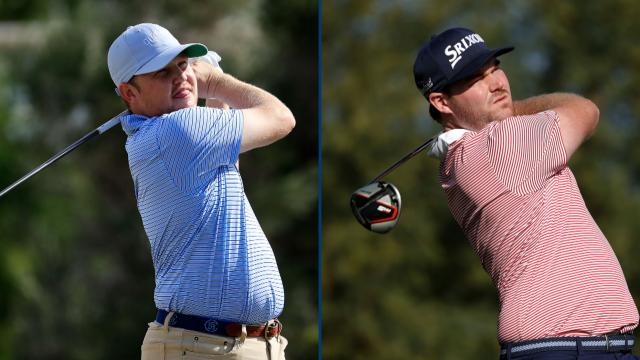 Zac Blair, Grayson Murray tied after 18 at The American Express