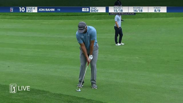 Jon Rahm makes birdie on No. 10 in Round 3 at ZOZO