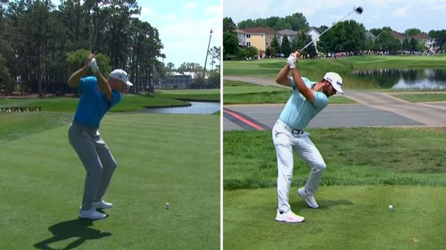 Jim Furyk vs. Matthew Wolff swing analysis