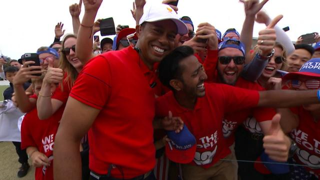 Tiger Woods highlights from 2019 Presidents Cup