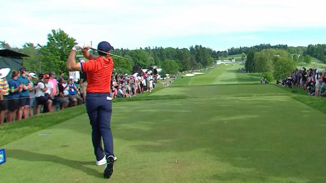 Leaders in driving from the RBC Canadian Open