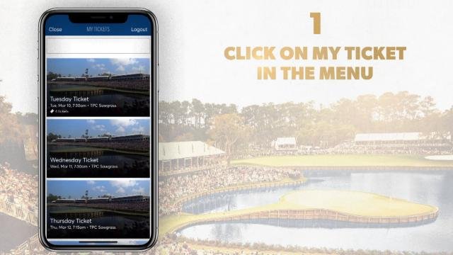 THE PLAYERS Championship is now mobile tickets only!