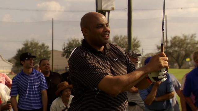 Charles Barkley's best moments on the golf course