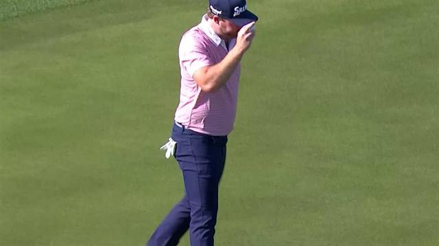 Grayson Murray nearly holes out for eagle at The American Express