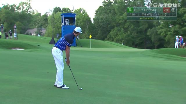 PGA TOUR | Billy Horschel makes birdie on No. 15 in Round 4 at Wyndham