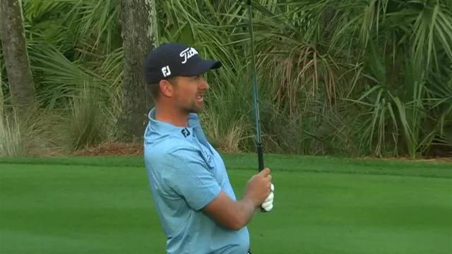 Webb Simpson's approach to 7 feet leads to birdie at THE PLAYERS