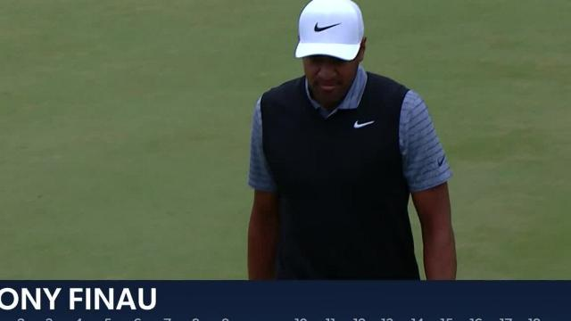 Tony Finau jars 45-footer for eagle at THE PLAYERS